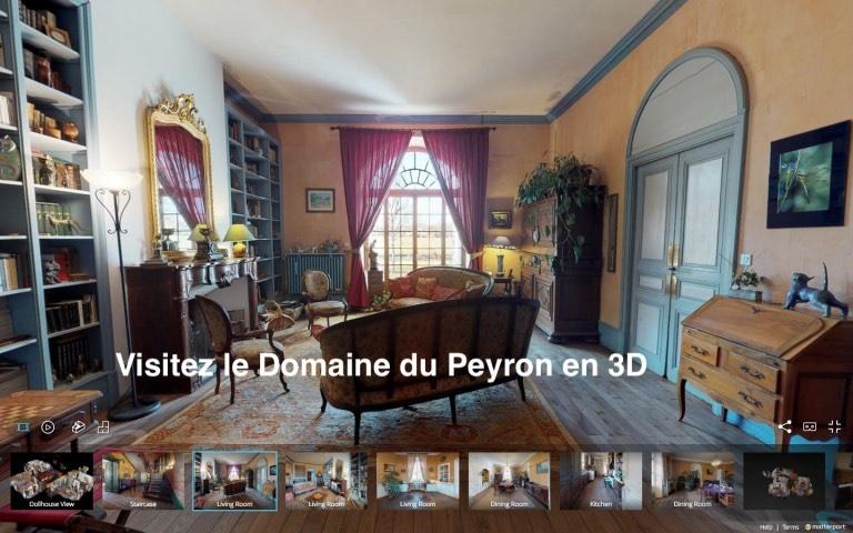 Domaine du Peyron en 3D
